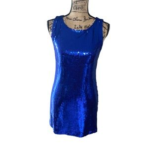 🥂 3/$25 🥂 Blue Sequins Dress from Forever 21